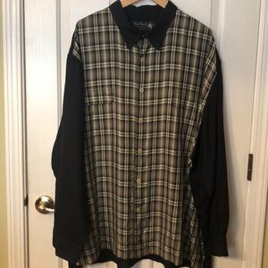 Nat Nast Two Tone Long Sleeve Shirt 2XL
